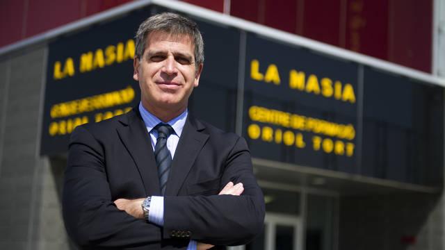 """Jordi Mestre: """"Los equipos del Barça siempre son muy competitivos"""""""