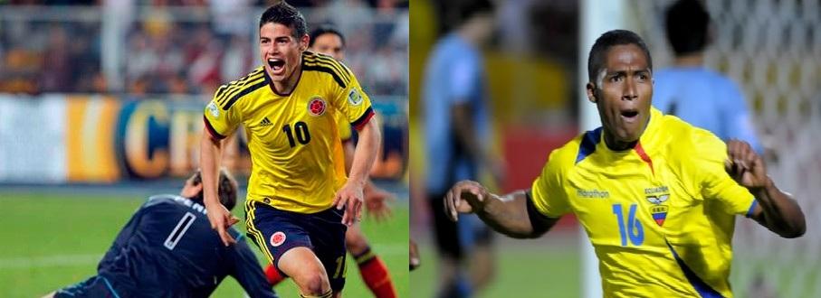 Ecuador - Colombia, un partido de mucha altura