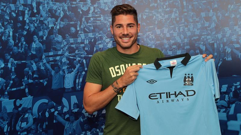 Javi García jugará en el Manchester City