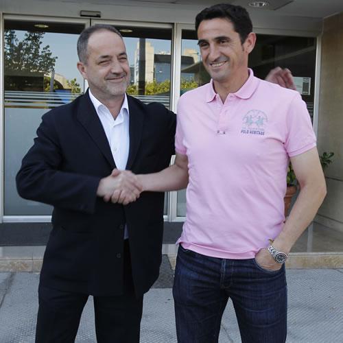 """Manolo Jiménez: """"El objetivo es crecer y hacer las cosas bien"""""""