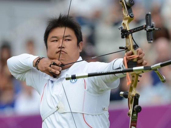 Jin Hyek Oh se hace con el oro en la final de Tiro con Arco