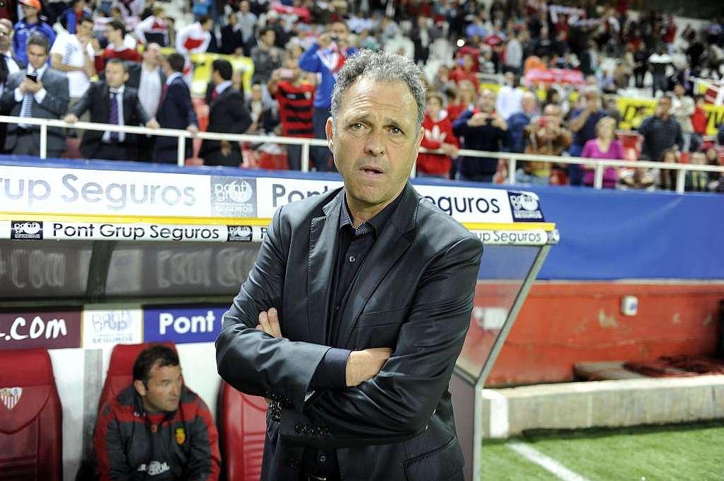 """Joaquín Caparrós: """"Enfrente había un equipo que aprieta y de gran calidad"""""""