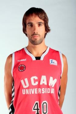 El jugador del UCAM Murcia Jordi Grimau llega al Blancos de Rueda Valladolid para reforzar su perímetro