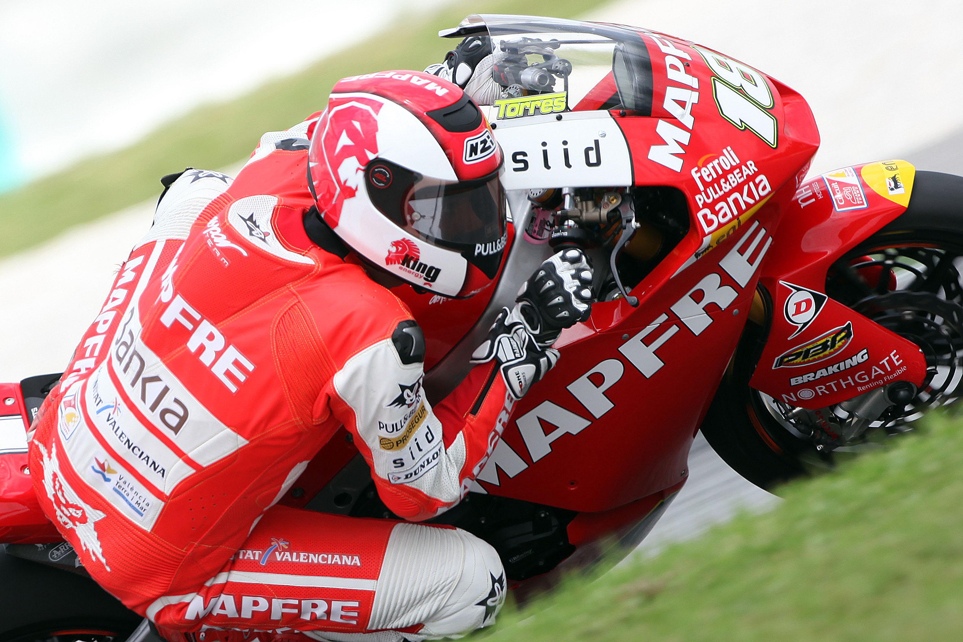 Jordi Torres es el nuevo piloto del Mapfre Aspar Team