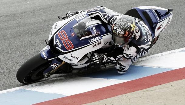 Jorge Lorenzo domina la FP3 bajo cielo cubierto