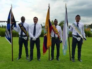 El colegio de Independiente realizó la jura de la bandera