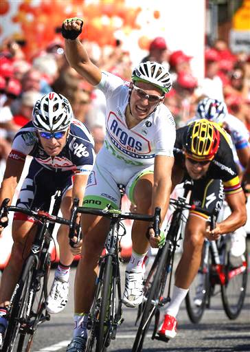 Kittel repite victoria en la cuarta etapa del Eneco Tour