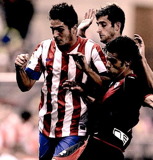 Koke cumple su 50º partido en liga con el Atlético