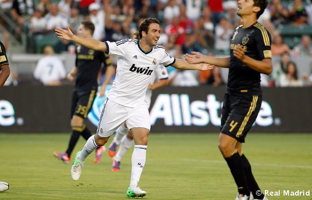 El Real Madrid se exhibe ante Los Ángeles Galaxy
