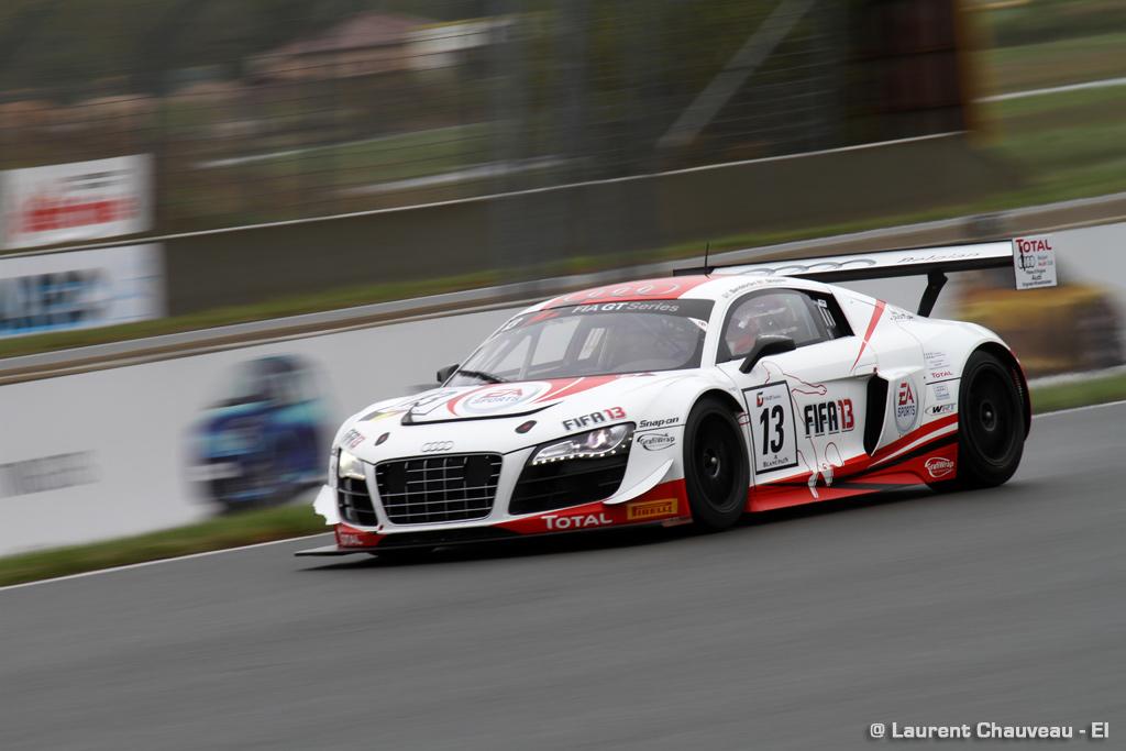 FIA GT: Pénalité pour l'Audi n°12