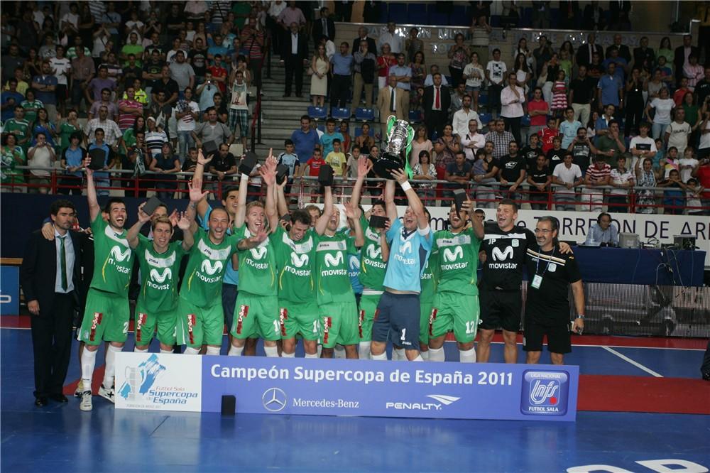 Inter Movistar, campeón de la Supercopa de España