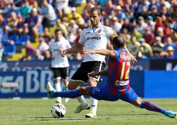 Levante - Valencia: puntuaciones del Valencia, jornada 7