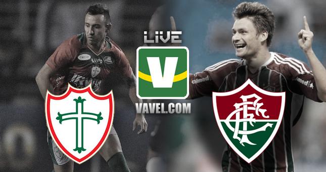 Portuguesa - Fluminense, assim acompanhamos