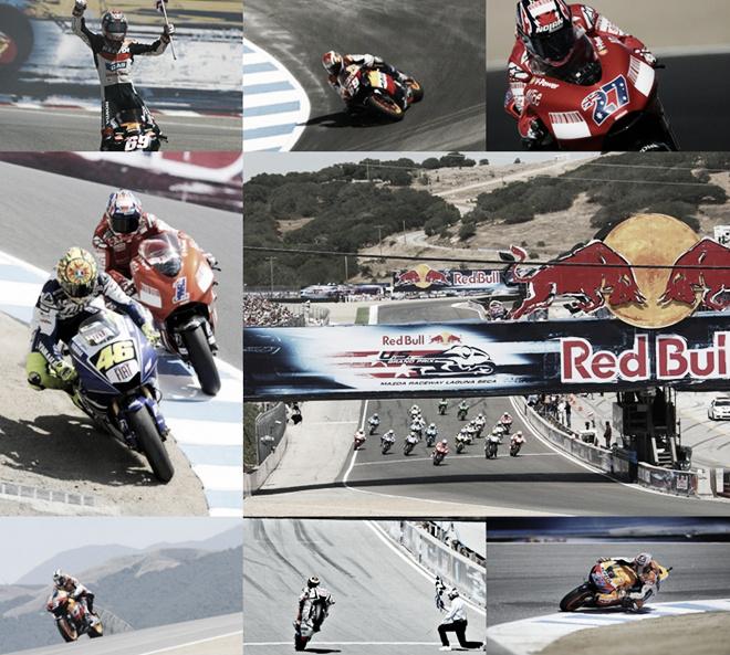 De 2005 a 2011: todas las carreras en Laguna Seca desde su vuelta al Mundial