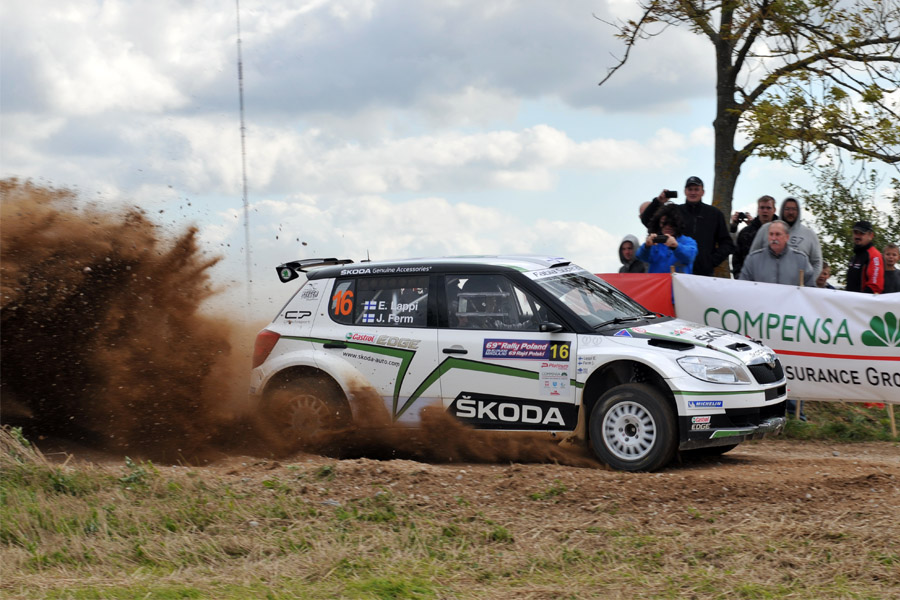 Lappi planta cara a la armada polaca y se lleva la victoria en el Rally de Polonia