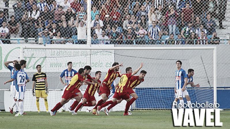 El Lleida elimina al Leganés de la forma más cruel