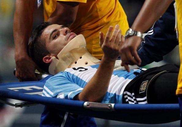 Gago, hospitalizado en Perú