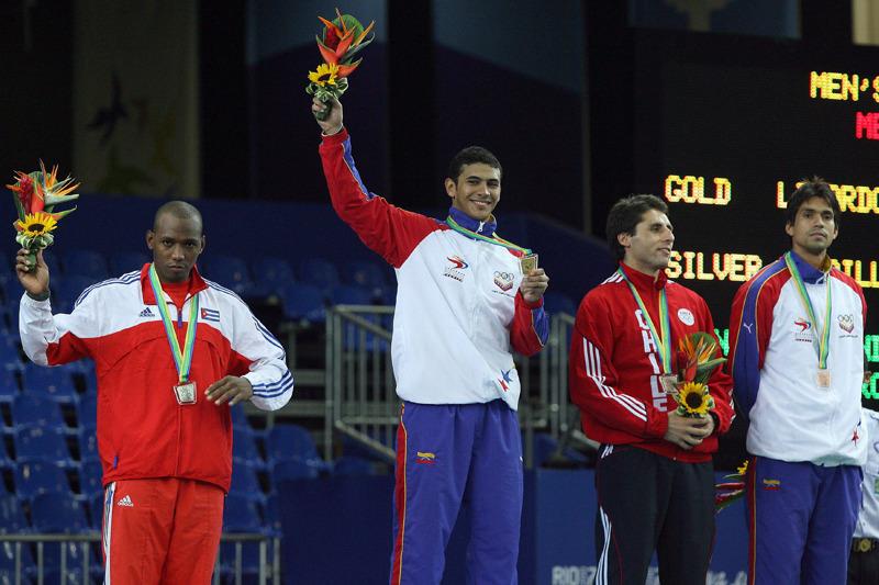 Medalla de oro para Rubén Limardo Gazcón de Venezuela en Esgrima