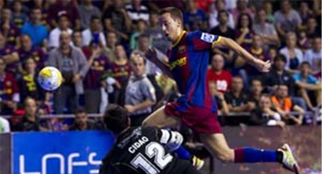 """Saúl y Lin, las alas de """"ElPozo"""" y FC Barcelona"""