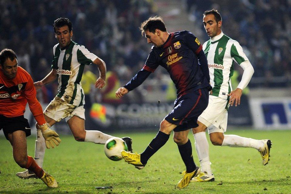 Messi y 10 más hacen grande a un Córdoba de Primera