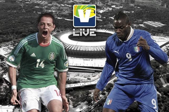 México - Itália, assim acompanhamos