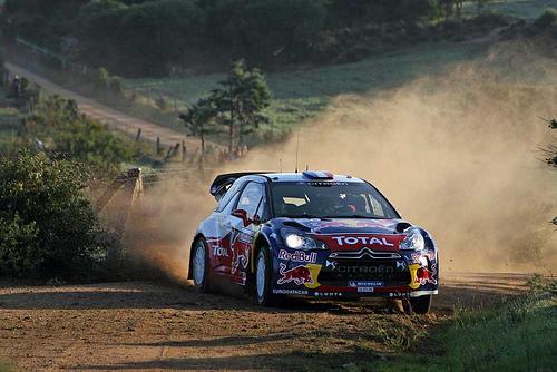 Loeb lidera en la primera jornada de Cerdeña