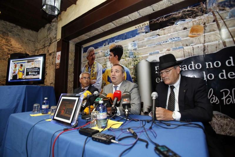 La UD Las Palmas presenta la campaña de abonados 2012-2013