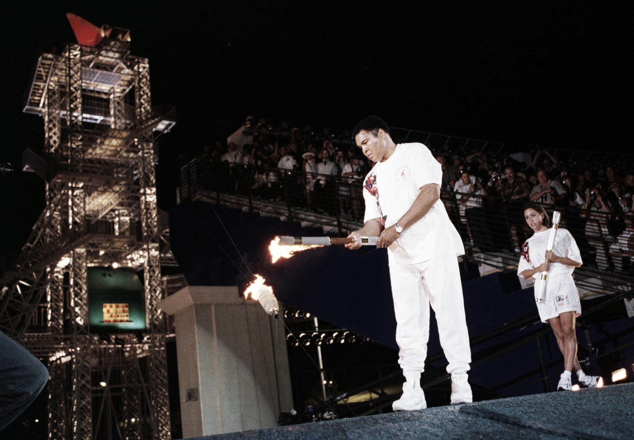 Atlanta 1996: el pebetero olímpico, el último combate de Muhammad Alí