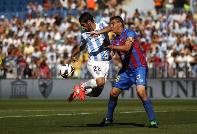 Málaga - Levante: puntuaciones Levante, jornada 4