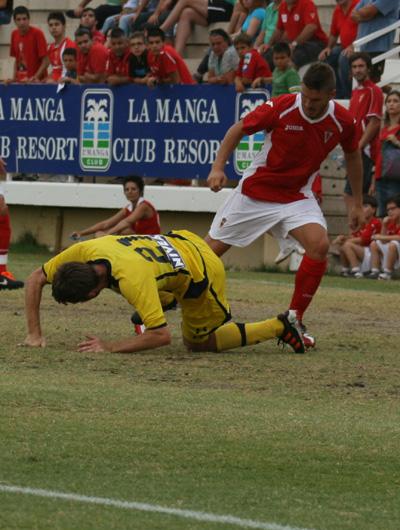 El Maccabi se impone al Real Murcia, pese a la buena imagen mostrada por los granas