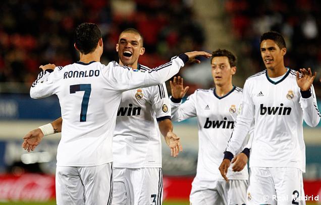 Cómoda goleada del Madrid ante un Mallorca que ofreció poca resistencia