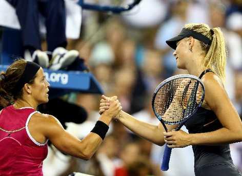 US Open: Sharapova no da opción a Lourdes Domínguez