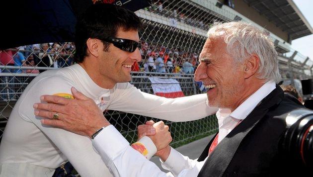 Webber toujours soutenu par Red Bull