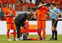 Mathijsen se lesiona el muslo ante Bulgaria
