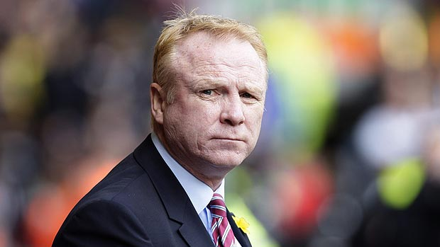 Villa and McLeish Part Company