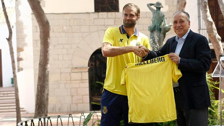 """Mellberg: """"He venido al Villarreal porque sigue siendo uno de los grandes"""""""