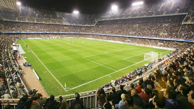 Mestalla: estadio prohibido para el Getafe