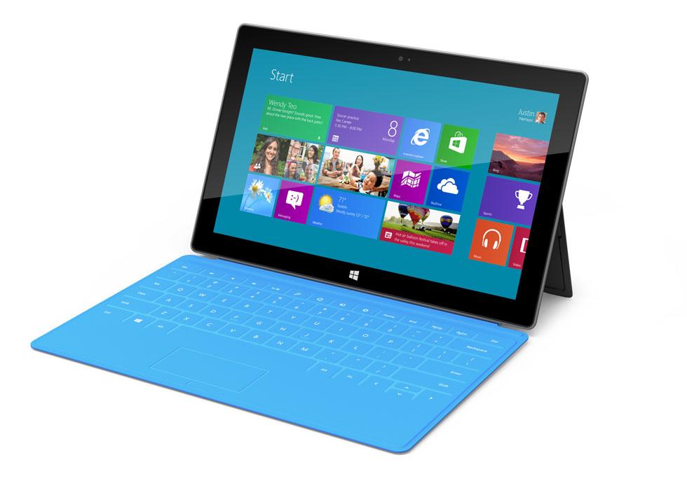 'Surface', la nueva tableta de Microsoft