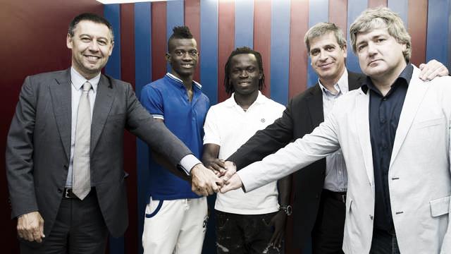 Agostinho Cá y Edgar Ié firmaron ayer su por cuatro temporadas