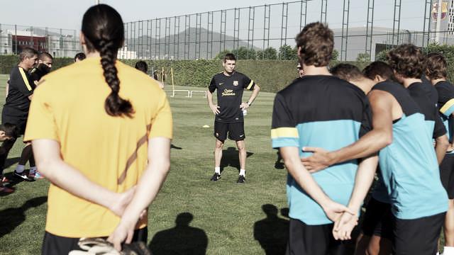 Tercera sesión de entrenamiento con los 21 jugadores disponibles