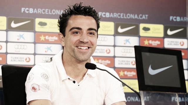 """Xavi: """"Me siento muy bien físicamente y con ganas de disputar la final de Copa"""""""