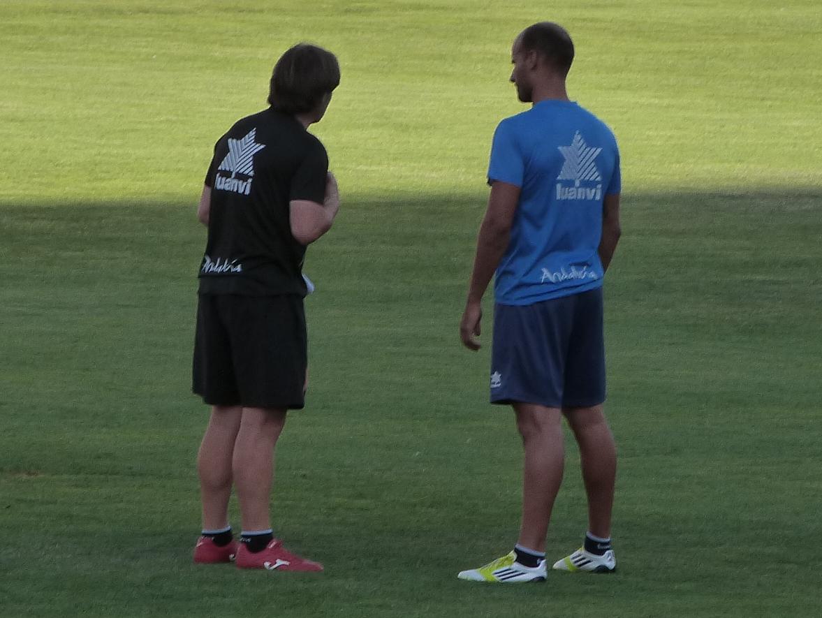 """Mikel Rico: """"El partido ha estado en los diez minutos posteriores a nuestro gol"""""""