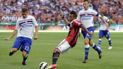 Fora de casa, Milan não sai do zero com a Sampdoria