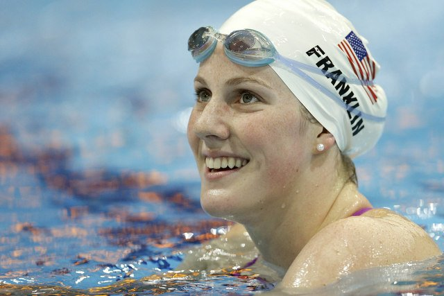 Missy Franklin se doctora en Londres