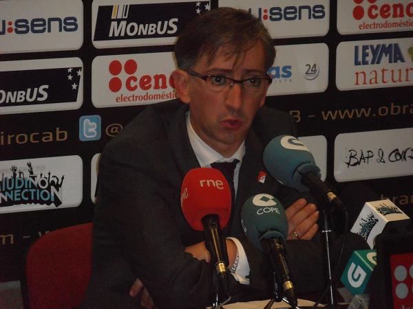 """Moncho Fernández: """"Ha sido un partido muy de inicio de Liga Endesa"""""""