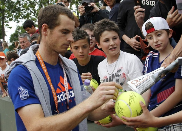 Live text updates: Andy Murray v Santiago Giraldo