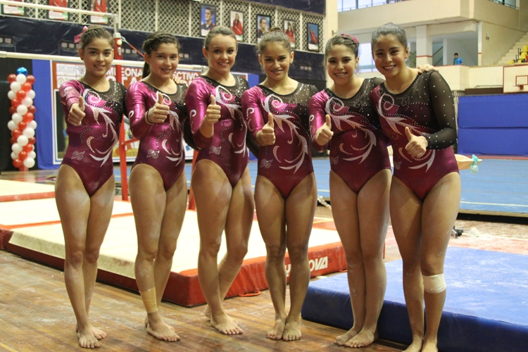 Domina Nuevo León equipos en Clase I A en Nacional de Gimnasia