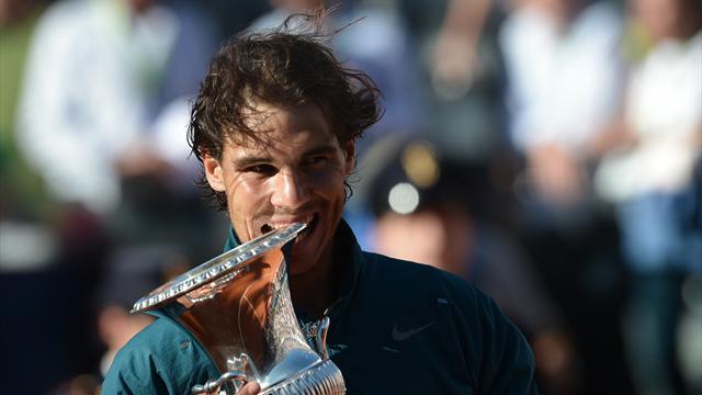 Federer mord la poussière, Nadal prêt pour Roland-Garros