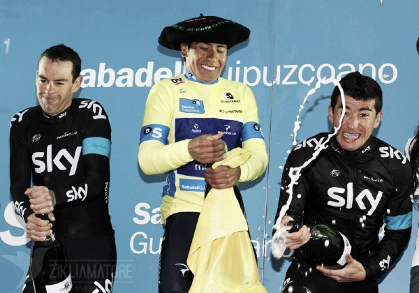 Nairo Quintana se lleva la Vuelta al País Vasco