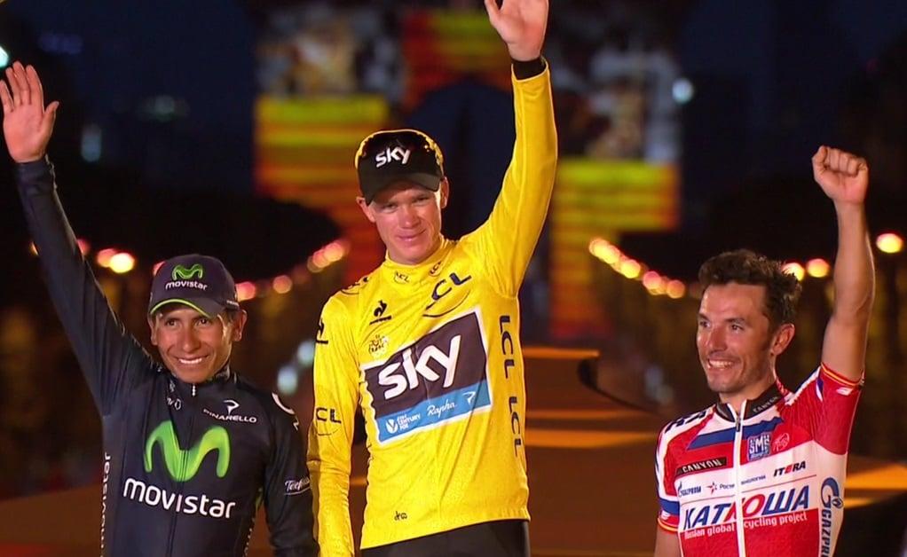 Celebra un país: ¡Nairo Quintana subcampeón del Tour de Francia 2013!